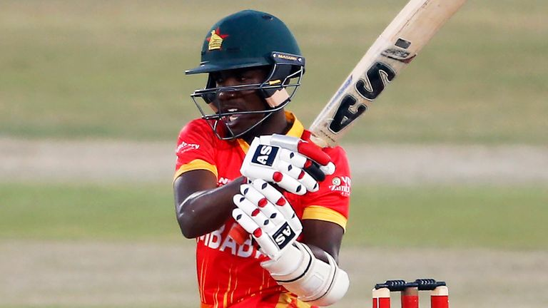 Wesley Madhevere's half-century came in vain for Zimbabwe as Pakistan's bowlers fought back