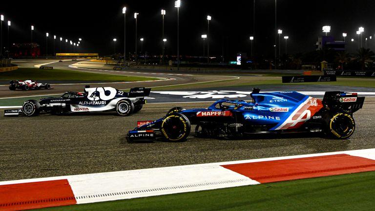 Yuki Tsunoda: Formula 1 'best rookie in years' recalls Fernando Alonso's 'moving' battle in Bahrain