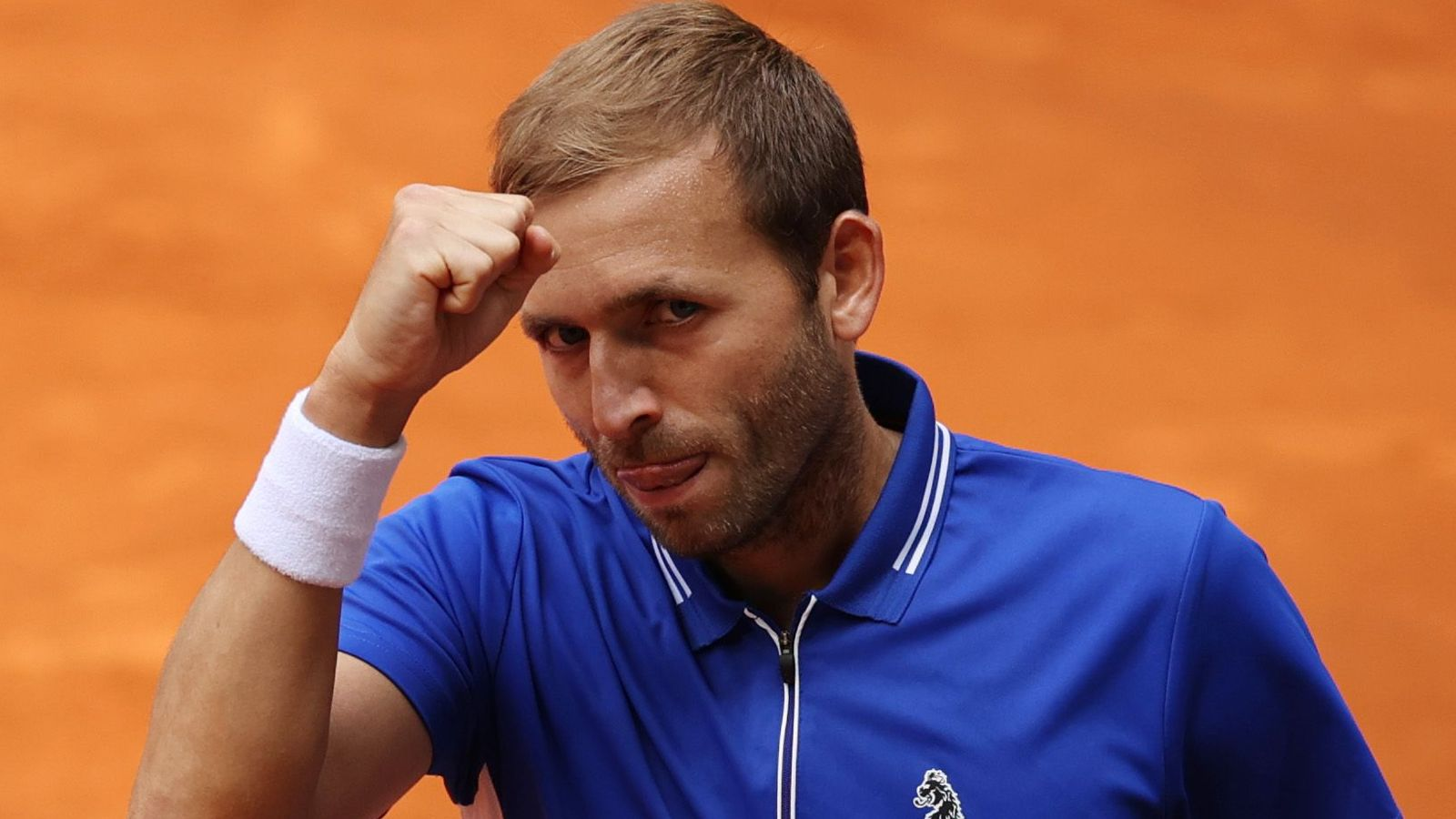 Madrid Open: Dan Evans beats Jeremy Chardy to make winning start to his campaign in the Spanish capital