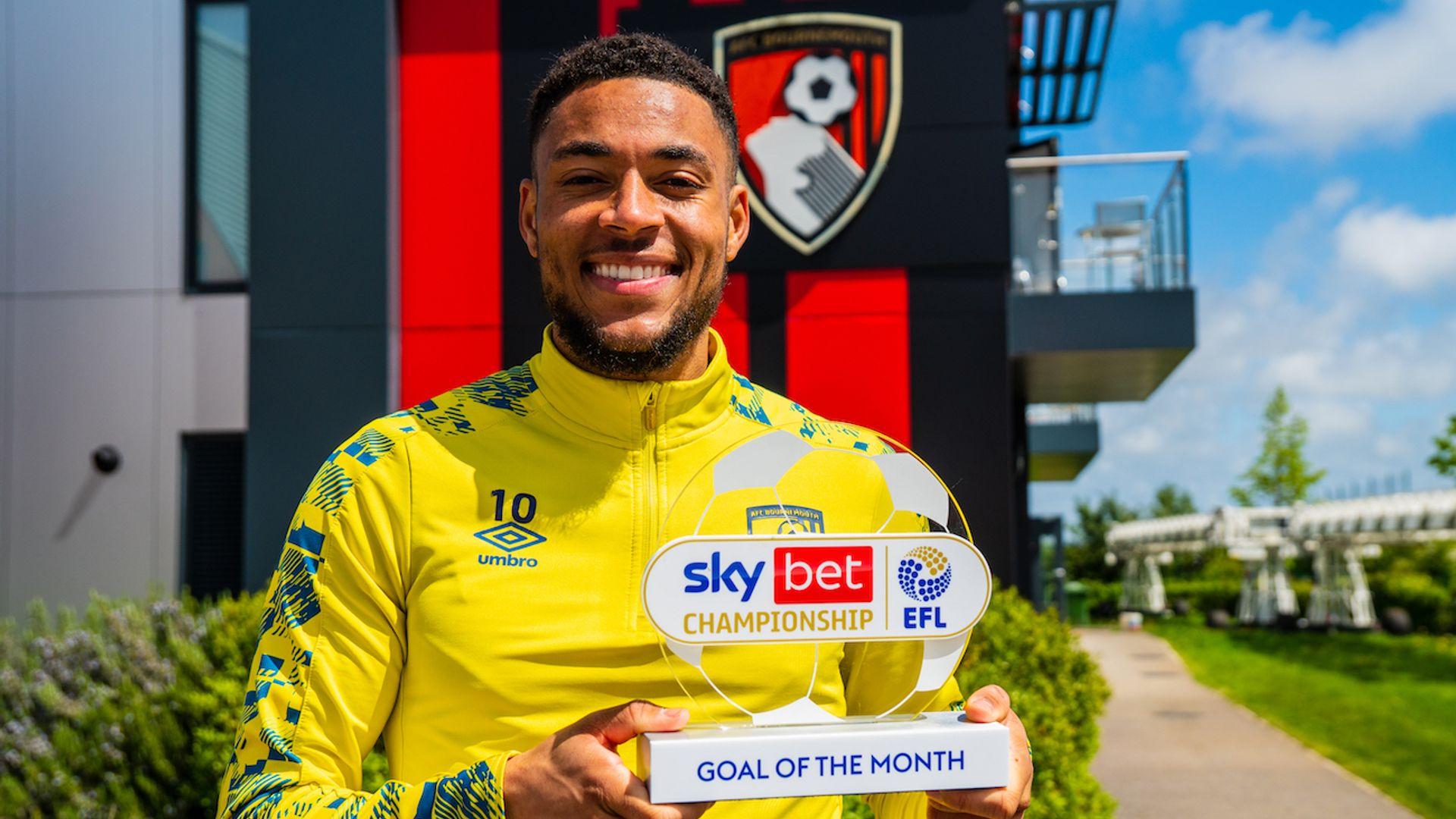Danjuma wins Championship Goal of the Month