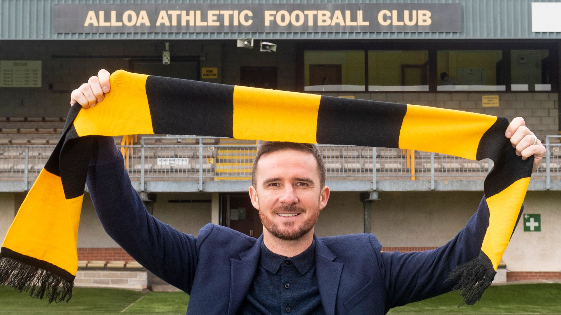 Ferguson: Alloa can be springboard to bigger manager roles