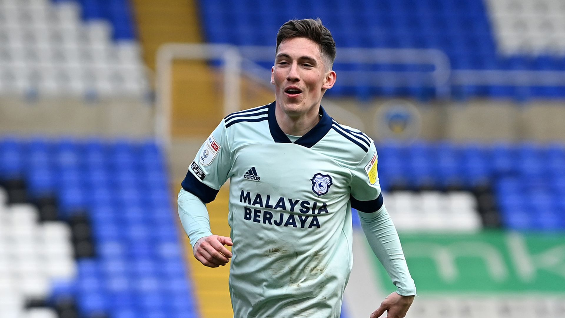 Wilson hat-trick steers Cardiff to victory
