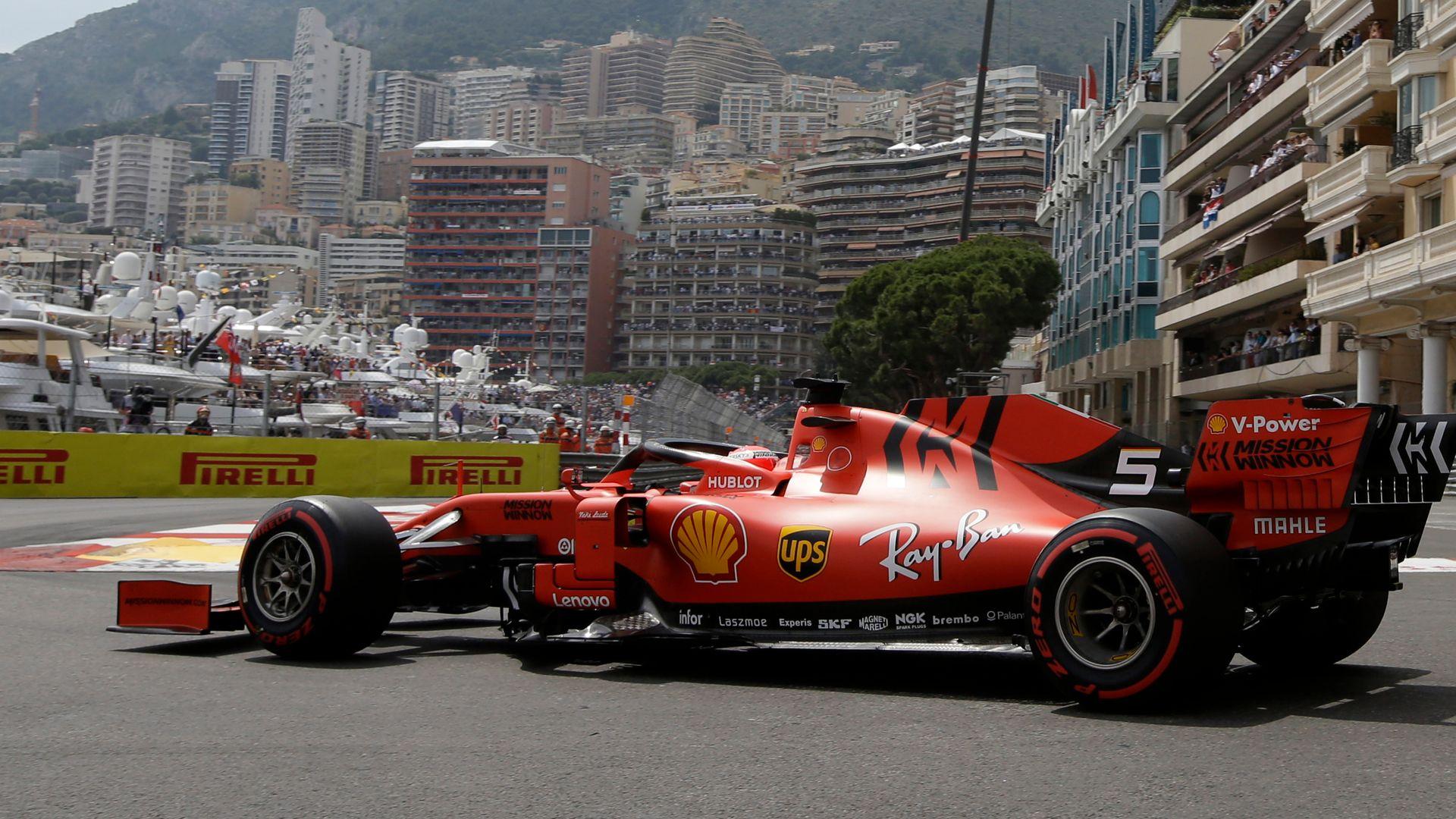Monaco GP is back: Lewis vs Max hits the streets