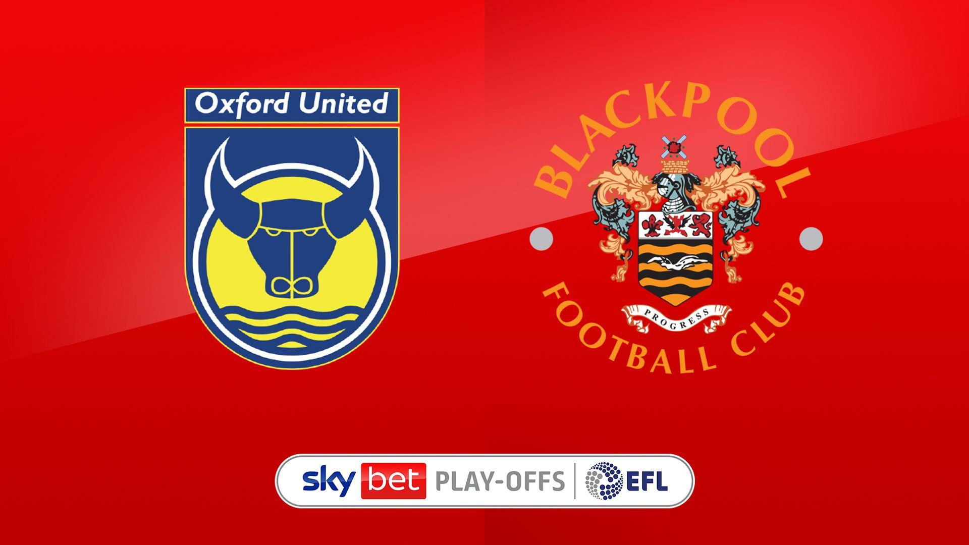 Live on Sky: Oxford vs Blackpool