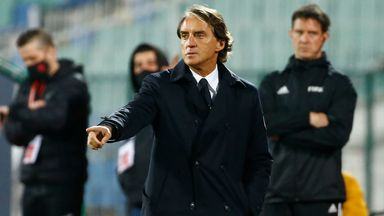 Italy coach Roberto Mancini will remain in charge of the team until 2026