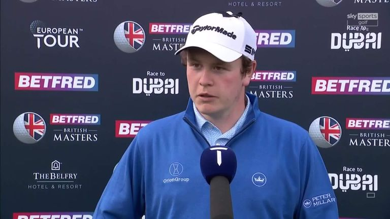 Robert MacIntyre says his putter was cold but remains confident of challenging for Betfred British Masters victory after staying within a shot of the 54-hole lead at The Belfry