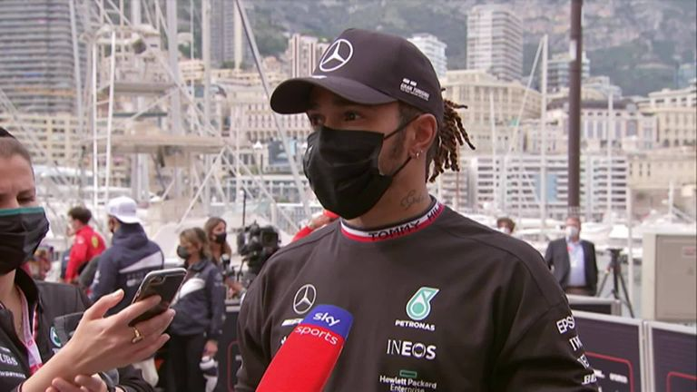 Lewis Hamilton reflects on his seventh-place finish in the Monaco Grand Prix after a pit stop that cost him 3 places.