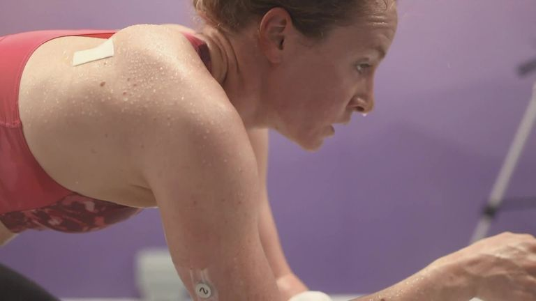 Sky Sports reporter Emma Paton spoke to triathlete Claire Cashmore about the challenges she's facing in preparation for the Paralympic Games