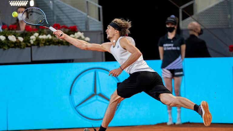 Zverev is shaping up nicely for the French Open