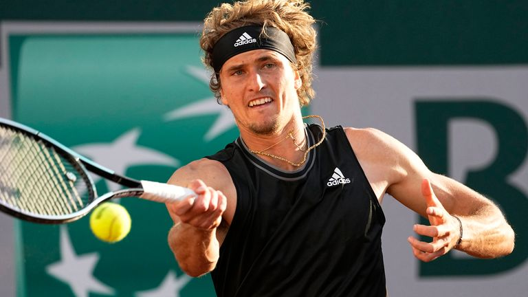 Alexander Zverev came from two sets down to defeat Oscar Otte