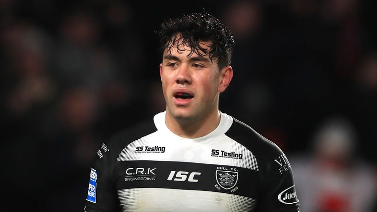 Hull FC's Andre Savelio took to Twitter following Thursday's game
