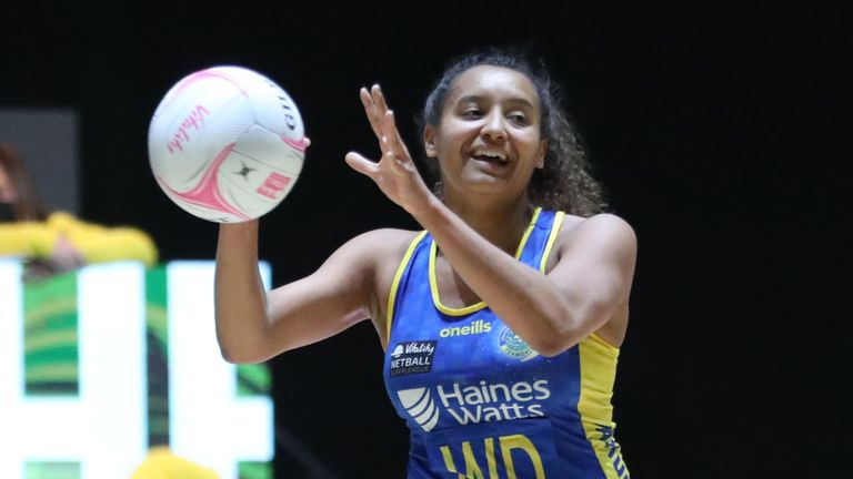 Team Bath Netball finished on top after a fierce encounter with Manchester Thunder (Image Credit - Morgan Harlow)