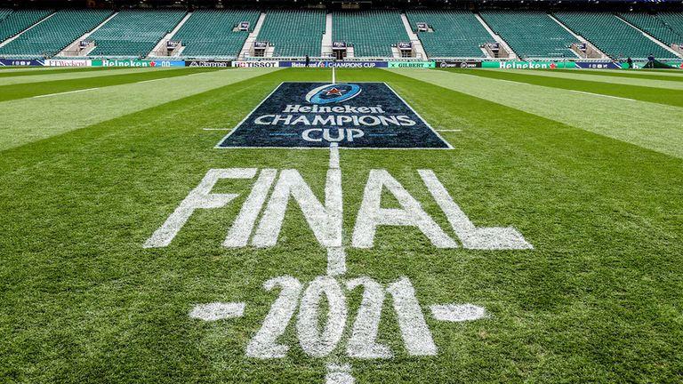 Twickenham acogió la final de la Copa de Campeones Heineken 2021