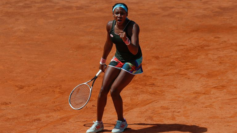 Gauff upset the in-form Aryna Sabalenka to make it through to a clash with world No 1 Barty