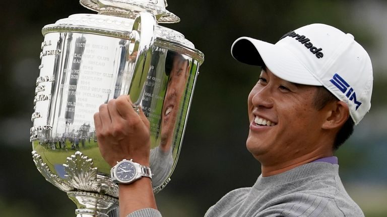 Collin Morikawa secured a maiden major title at the 2020 PGA Championship