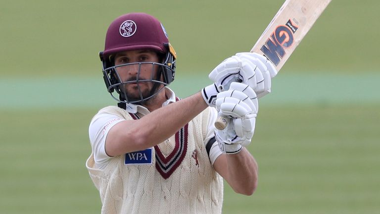 County Championship: Lewis Gregory's hundred leads Somerset fightback against