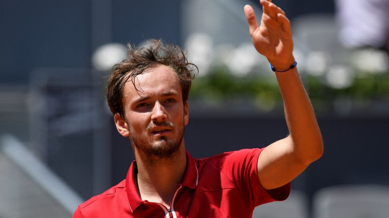 Daniil Medvedev has recovered from coronavirus and says he is taking things one match at a time