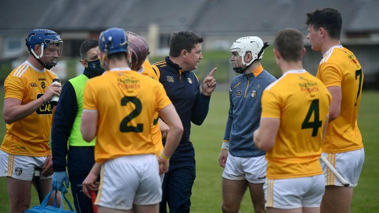 Antrim remain unbeaten under Darren Gleeson