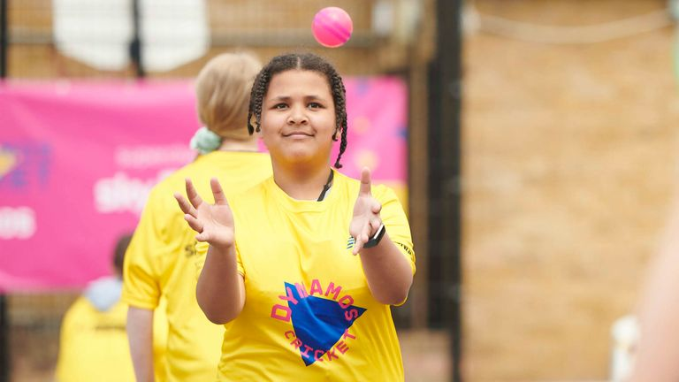 Dynamos Cricket Intros is designed to tackle existing barriers and inspire the next generation to pick up a bat and ball