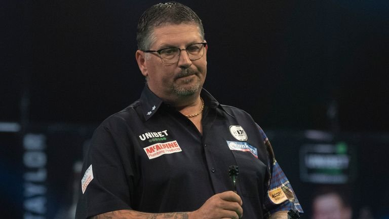 Gary Anderson has struggled for consistency since reaching his fifth world final in January