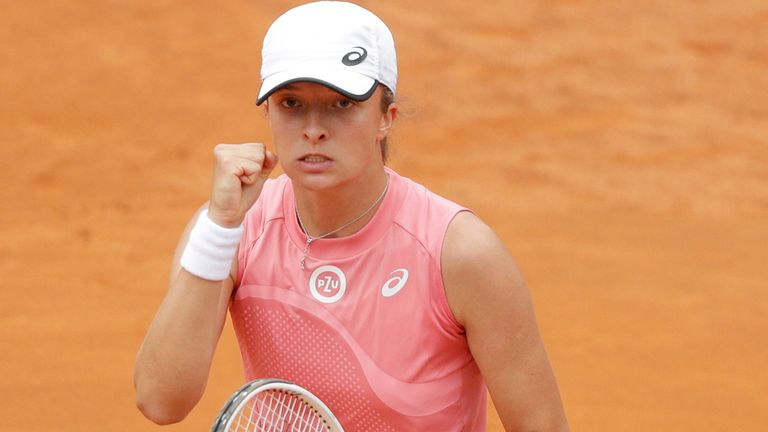 Swiatek took just 46 minutes to demolish Pliskova and claim her third WTA title
