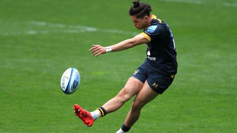 Jacob Umaga kept the scoreboard ticking over for Wasps with his kicking