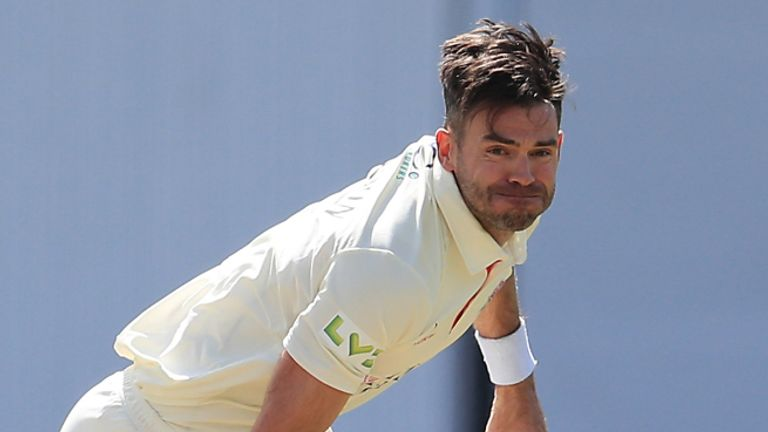 County Championship round-up: James Anderson claims Marnus Labuschagne's wicket