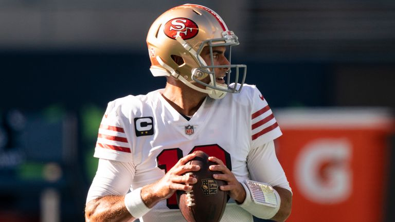 Jimmy Garoppolo is prepared to fight for the starting quarterback role in San Francisco