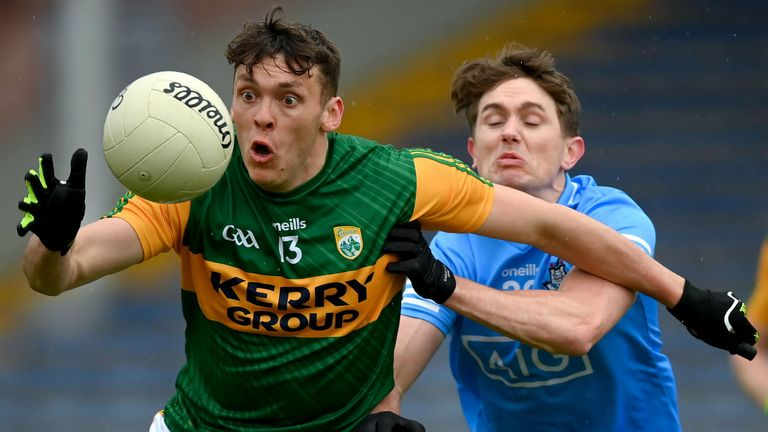 David Clifford in action against Michael Fitzsimons at Semple Stadium on Sunday