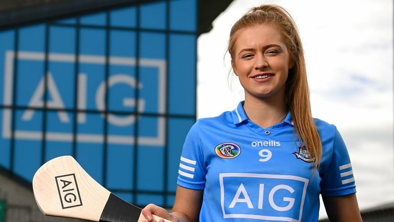 Dublin camogie player Leah Butler was speaking at the launch of 'AIG BoxClever'