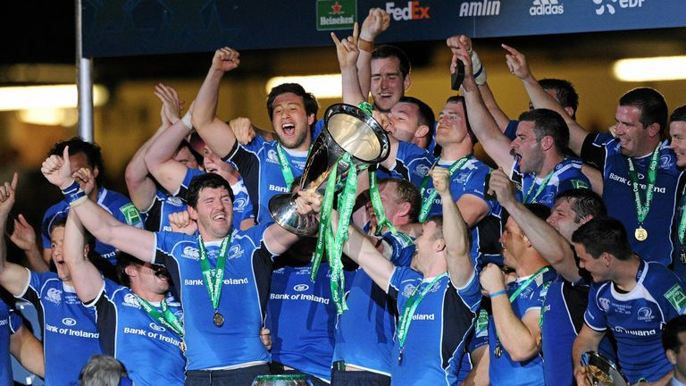 Leinster picked up their second European title in 2011, coming from 22-6 behind to beat Northampton