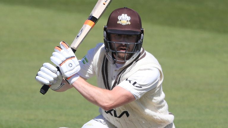 Mark Stoneman (pictured) and Burns shared two stands of 135 against their London rivals