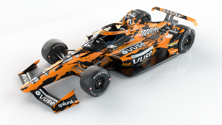 Arrow McLaren's livery for this year's Indy 500