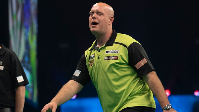Van Gerwen has only won the lone major title since his UK Open triumph in March 2020