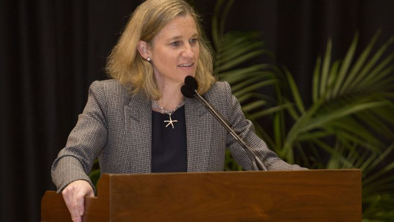 Mollie Marcoux Samaan graduated from Princeton University in 1991 and returned in 2014 when appointed director of athletics.