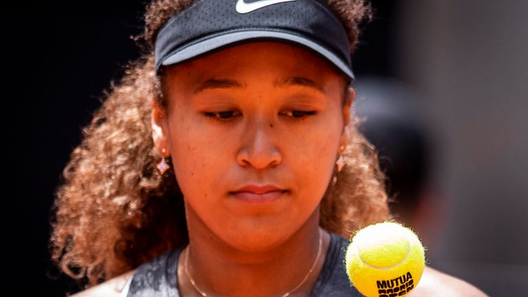 Japan's Naomi Osaka won't be taking part in any press during the tournament because of mental health concerns