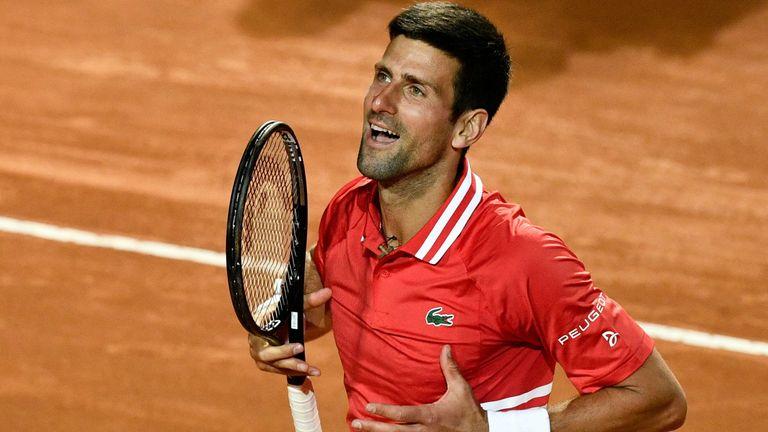 Novak Djokovic a mis fin aux espoirs de Lorenzo Sonego d'organiser une confrontation à succès contre Rafael Nadal