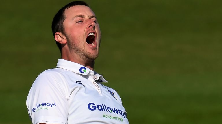 Sussex seamer Ollie Robinson says he will 'get in New Zealand's faces' if he makes his England Test debut at Lord's