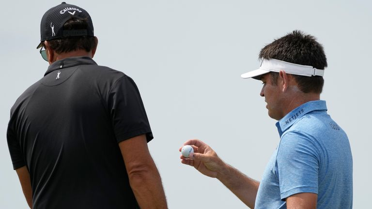 Phil Mickelson cleared Oosthuizen over the incident on day three