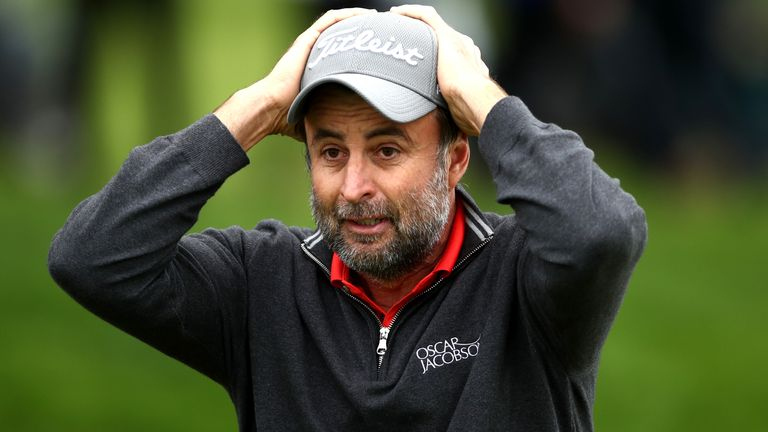 A look back at the drama on the 18th green as Bland sealed victory