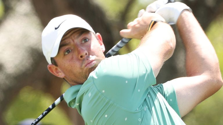 Rory McIlroy struggled to a third-round 74 at the PGA Championship