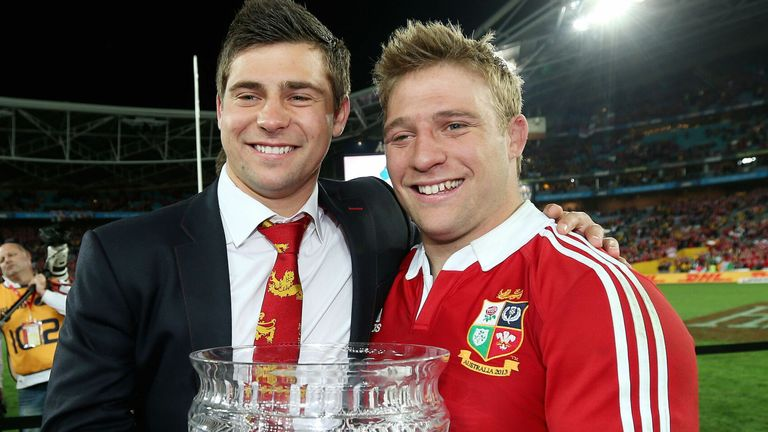 Youngs and his brother Tom helped the Lions claim a series win in Australia in 2013