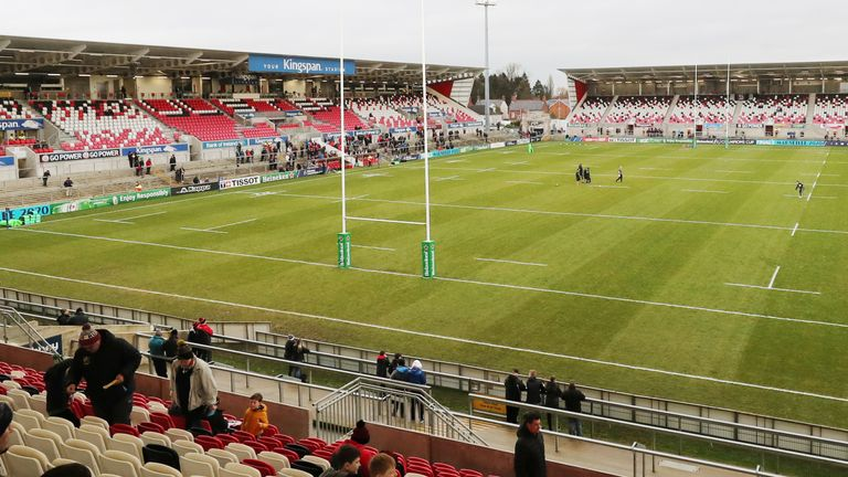 Five hundred fans were due to attend Saturday's game in Belfast