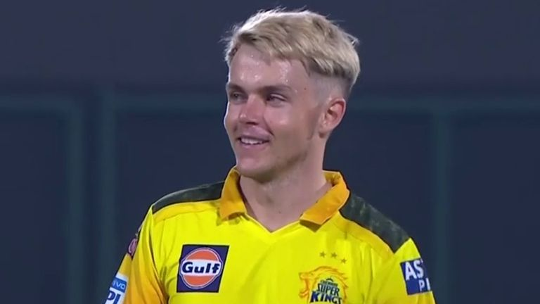 Sam Curran took three wickets for CSK