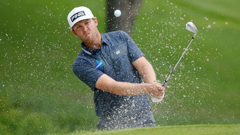 Seamus Power saw his chances wane by releasing two shots on the 13th and another on the 14th