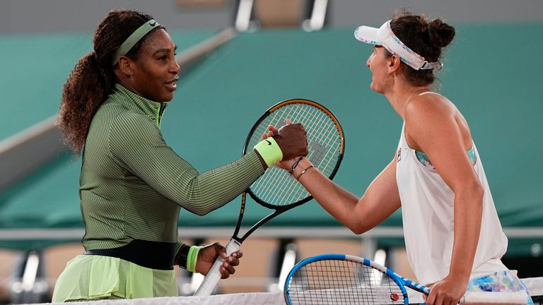 Williams has lost just one of her 78 opening round matches at Grand Slam tournaments