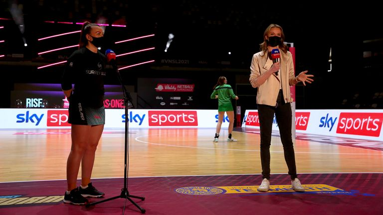 This season, directors of netball and head coaches have been front and centre every weekend (Image Credit - Ben Lumley)