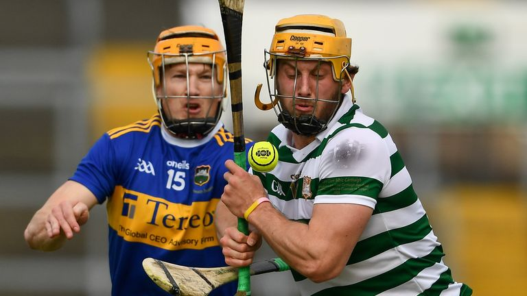 Honours were even after an entertaining clash at the Gaelic Grounds on Saturday