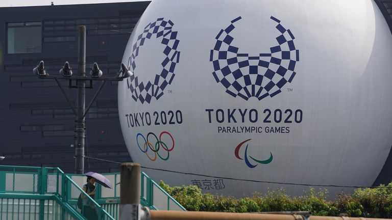The Olympics are scheduled to begin in Tokyo on July 23