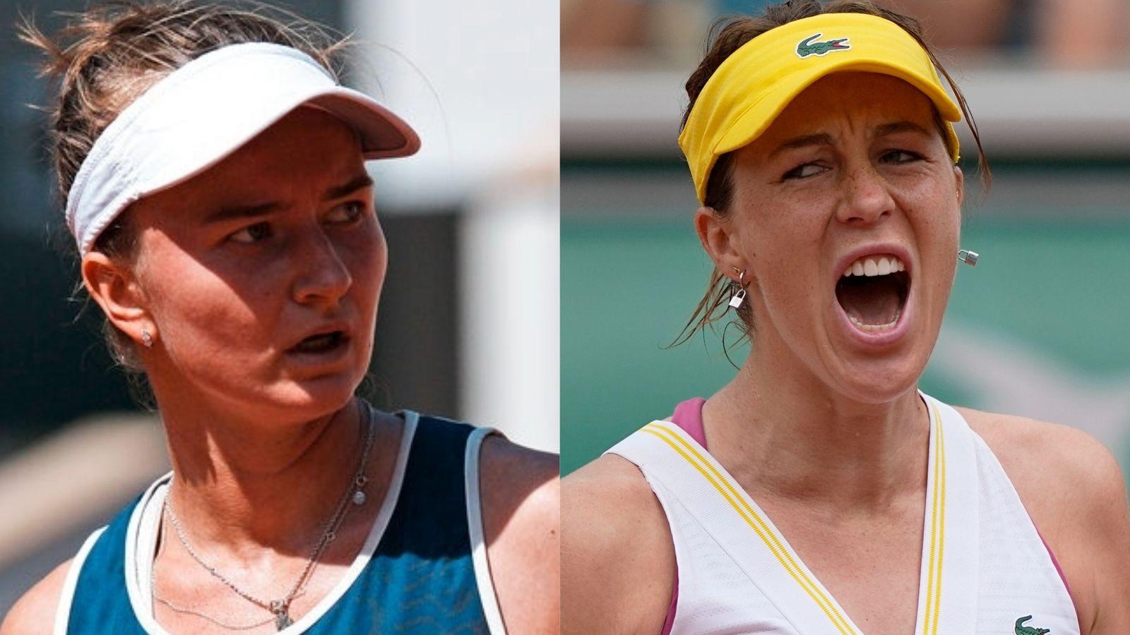 French Open: Barbora Krejcikova and Anastasia Pavlyuchenkova to duel for title - Sky Sports